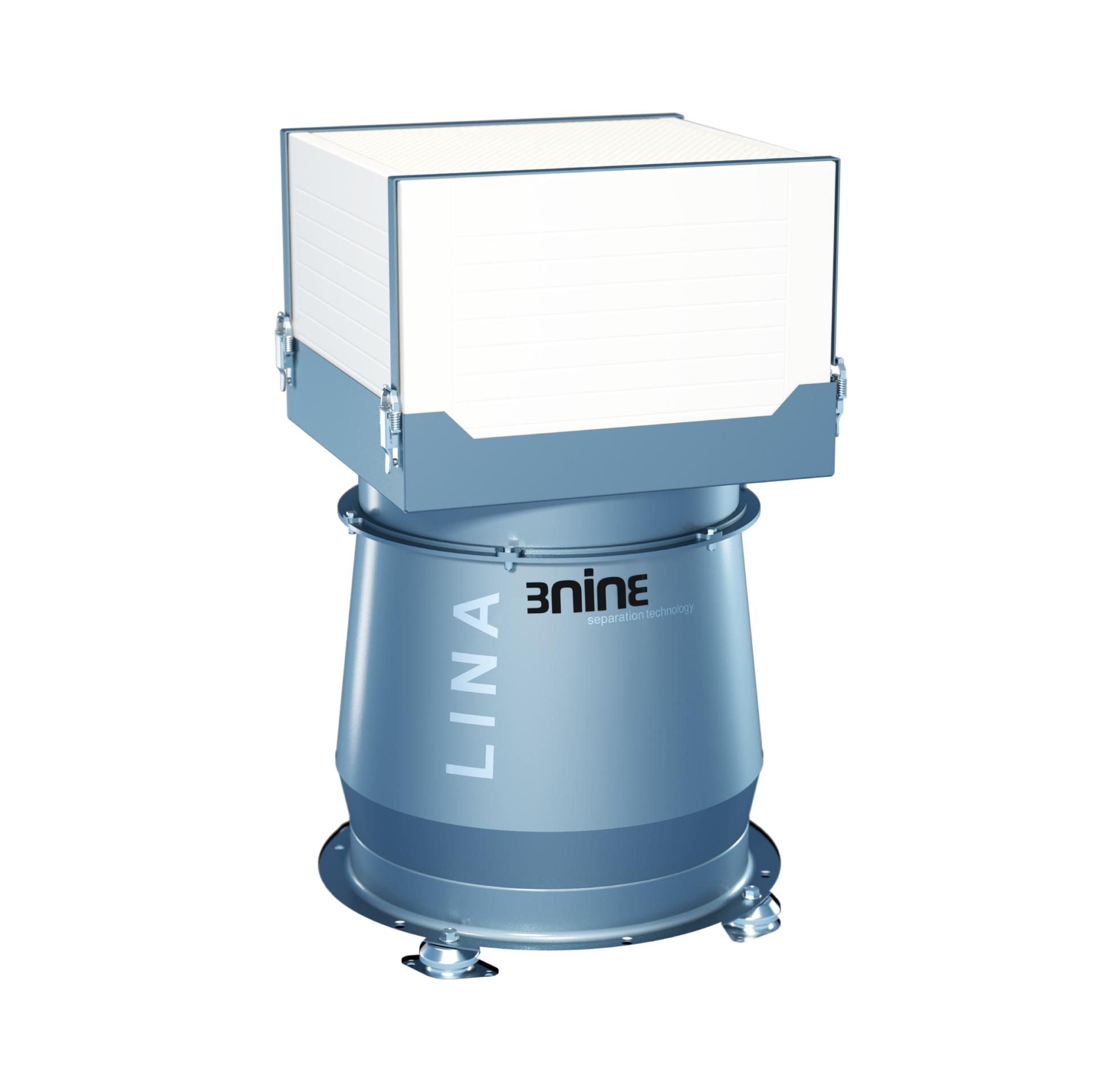 3ninen Lina-pisaraerotin on suunniteltu erityisesti koteloituja työstökoneita varten.