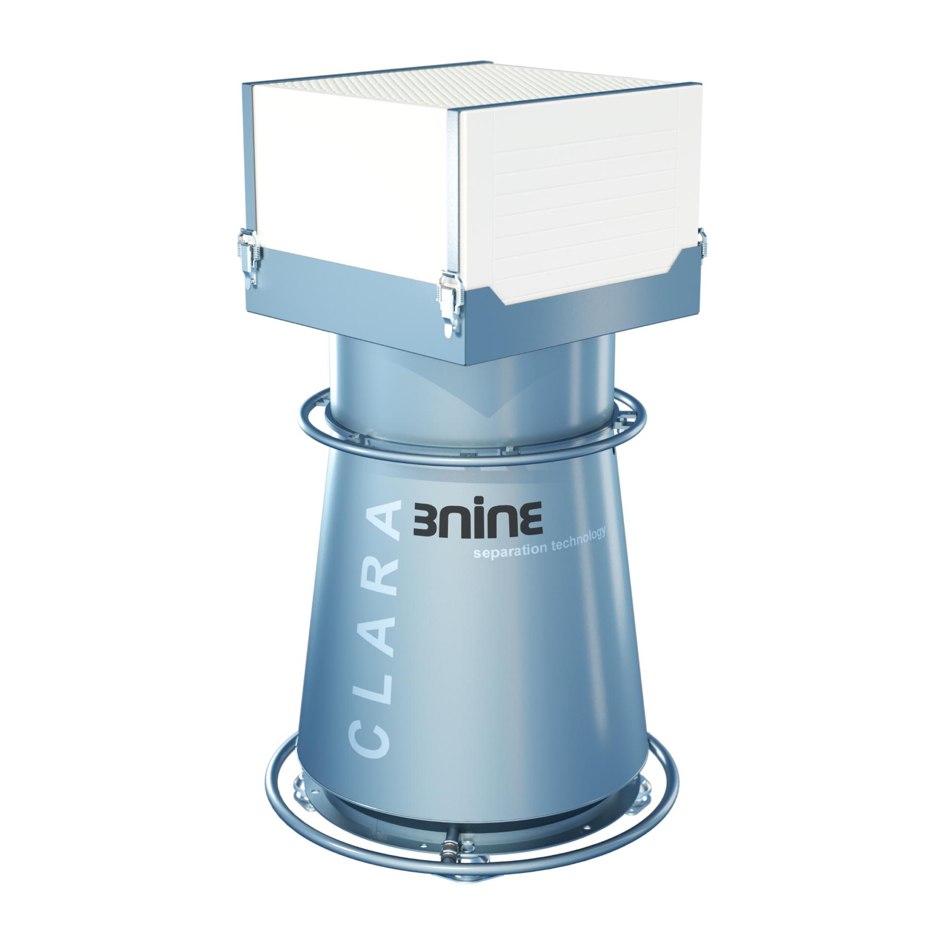 Clara-pisaraerotin sopii lähes kaikentyyppisiin työstökoneisiin, joiden kammion tilavuus on korkeintaan 353 CF (10 m³)